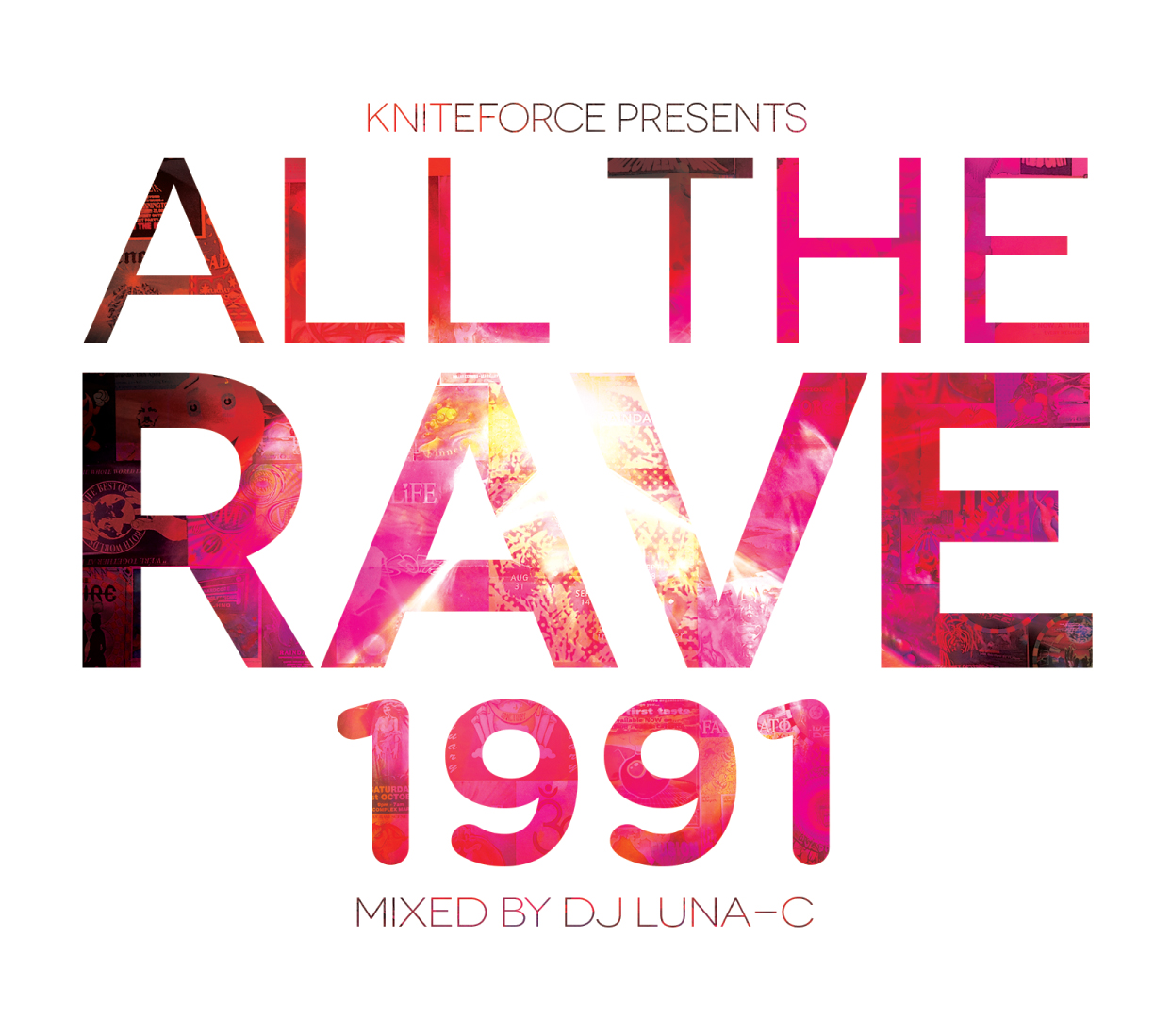 [ATR01] Various - All The Rave 1991 (Double Album) (Digital Only)