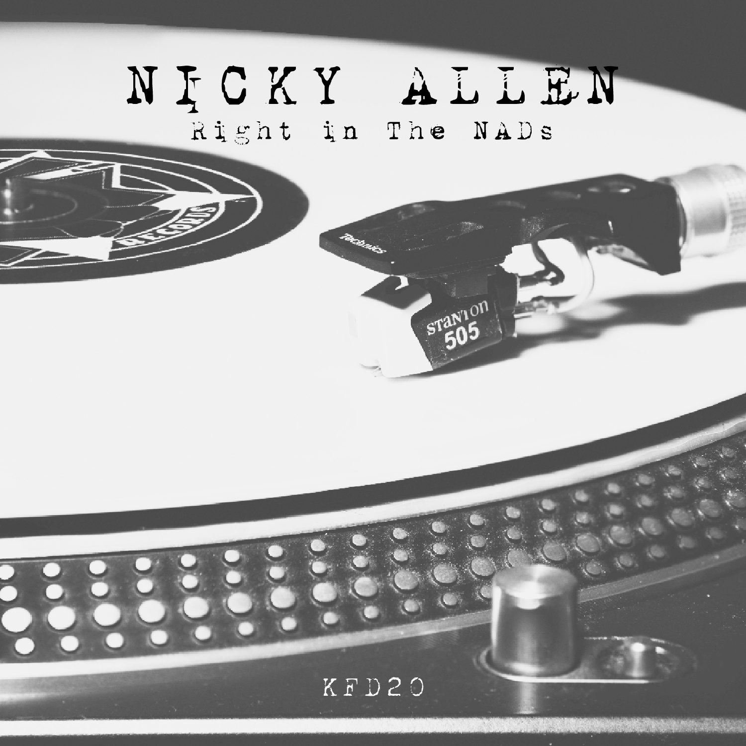 [KFD020] Nicky Allen - Right In The Nads (Digital Only)