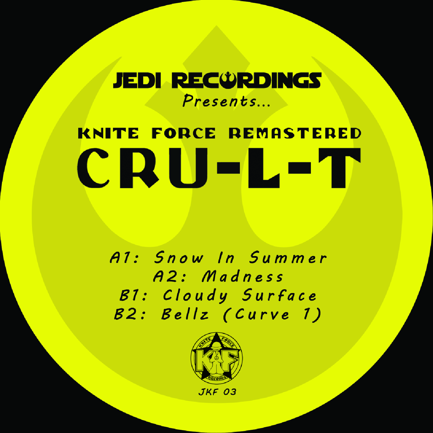 "[JKF03] Cru-l-t - Remastered (12"" Vinyl + Digital)"