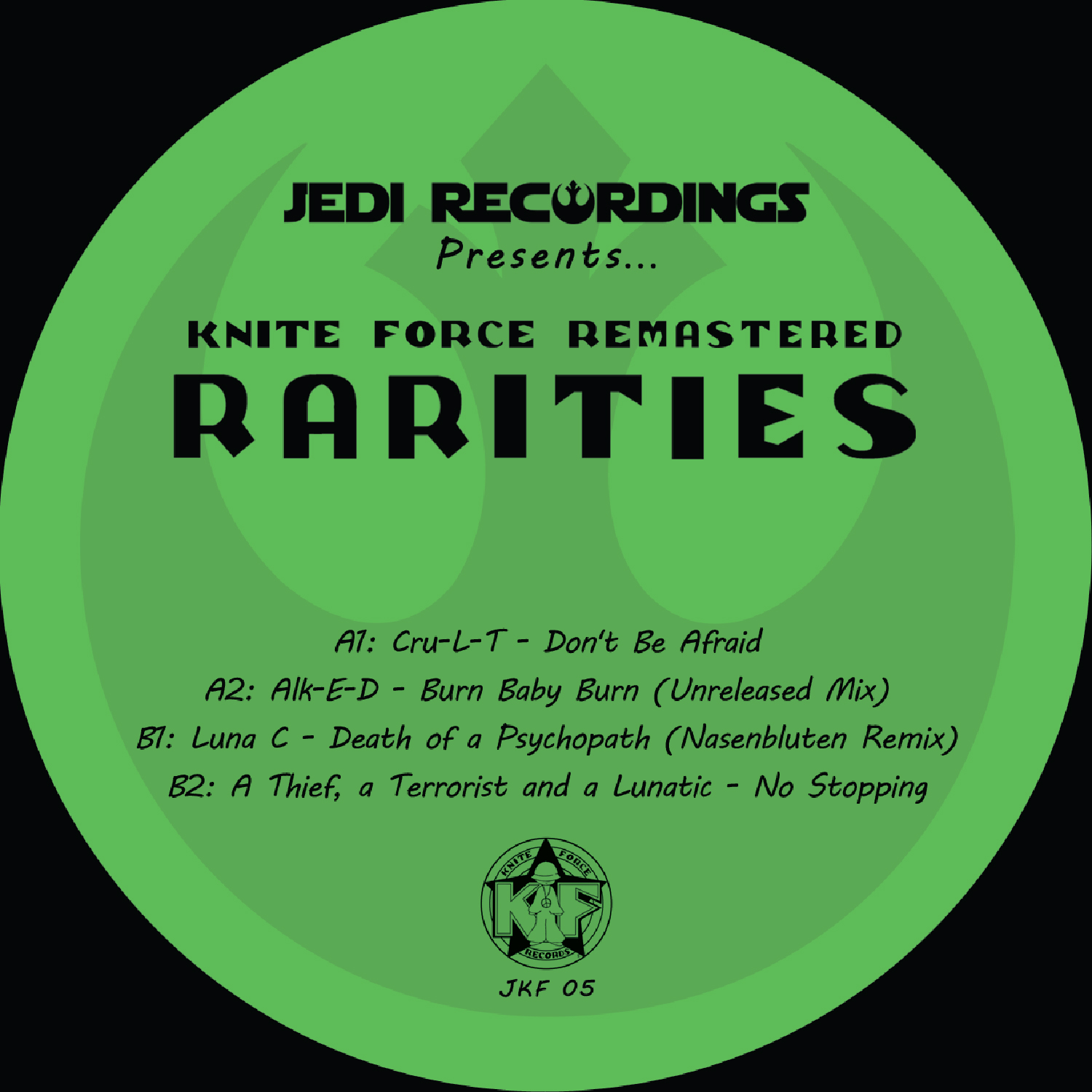 "[JKF05] Various - Rarities EP (12"" Vinyl + Digital)"