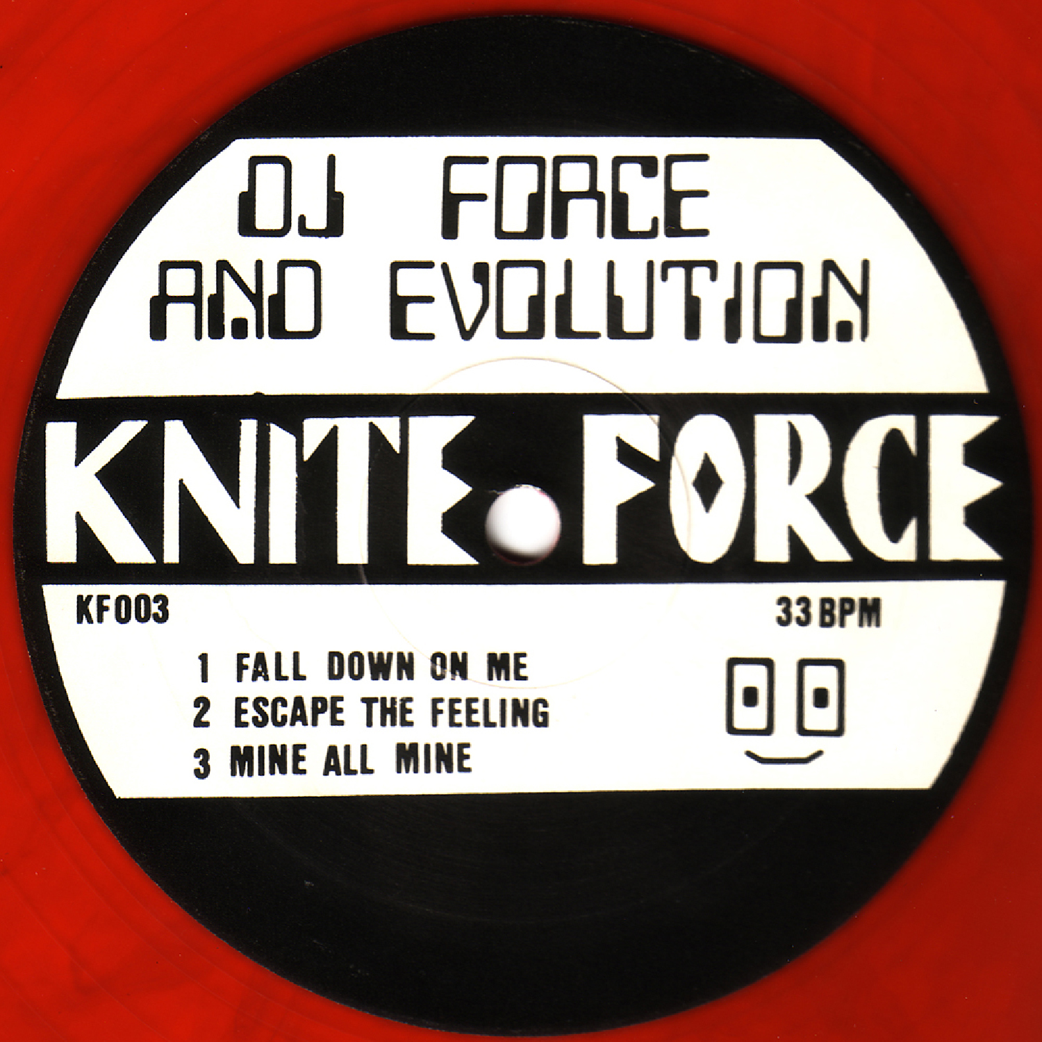 [KF003] DJ Force & The Evolution - Fall Down On Me EP (Digital Only)