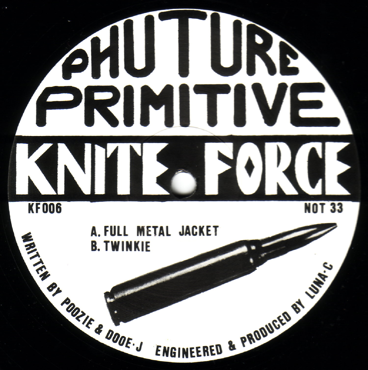 [KF006] Future Primitive - Full Metal Jacket EP (Digital Only)