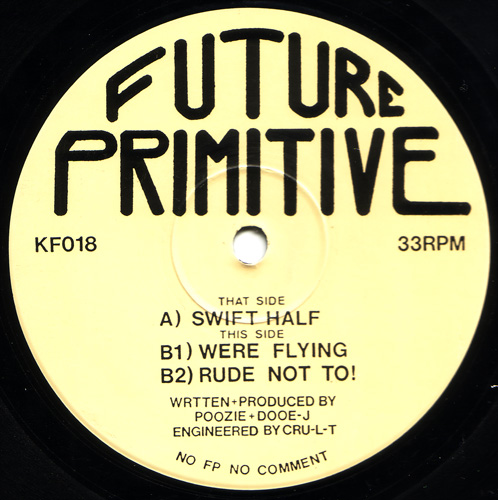 [KF018] Future Primitive - Swift Half EP (Digital Only)