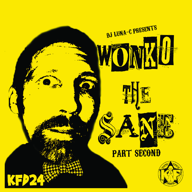 [KFD024] Luna-C - Wonko The Sane Part Second EP (Digital Only)