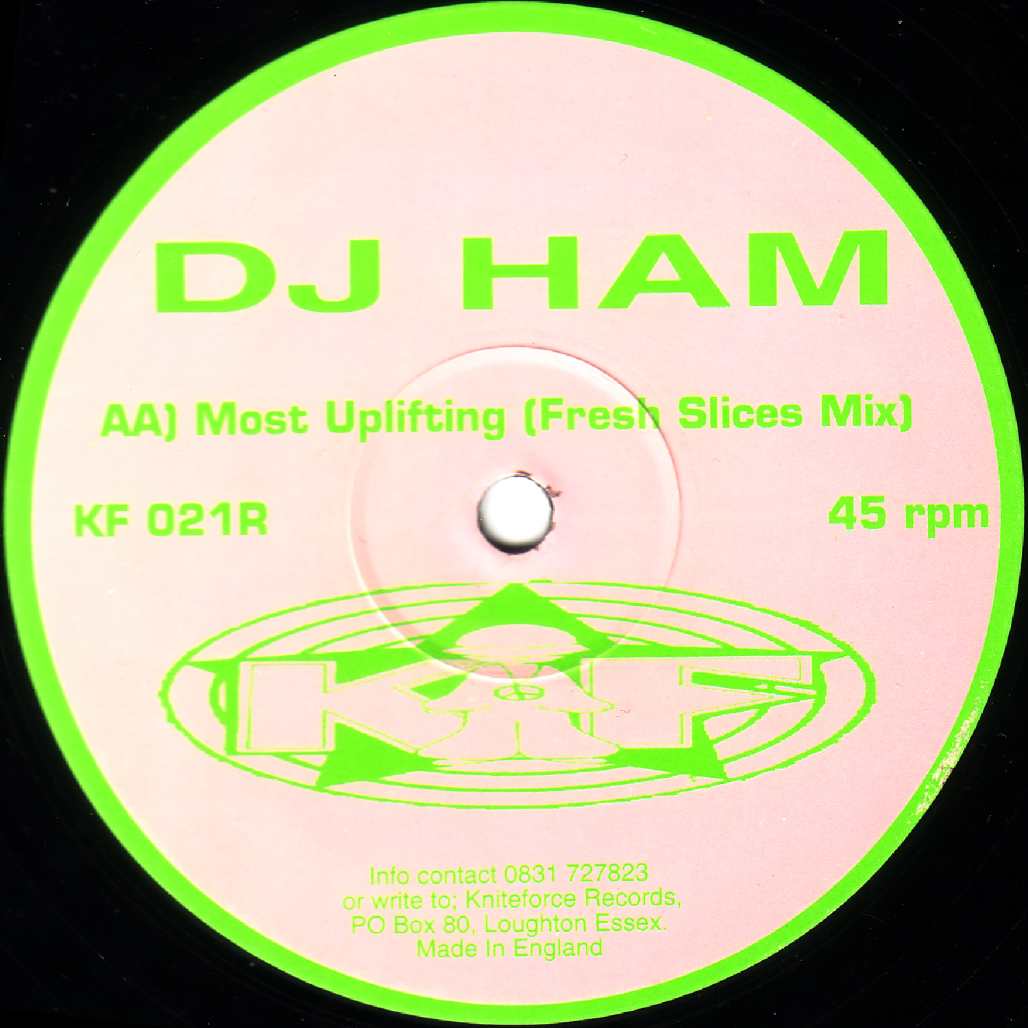 [KF021R] DJ Ham - Green Eggs And....Remixes EP (Digital Only)