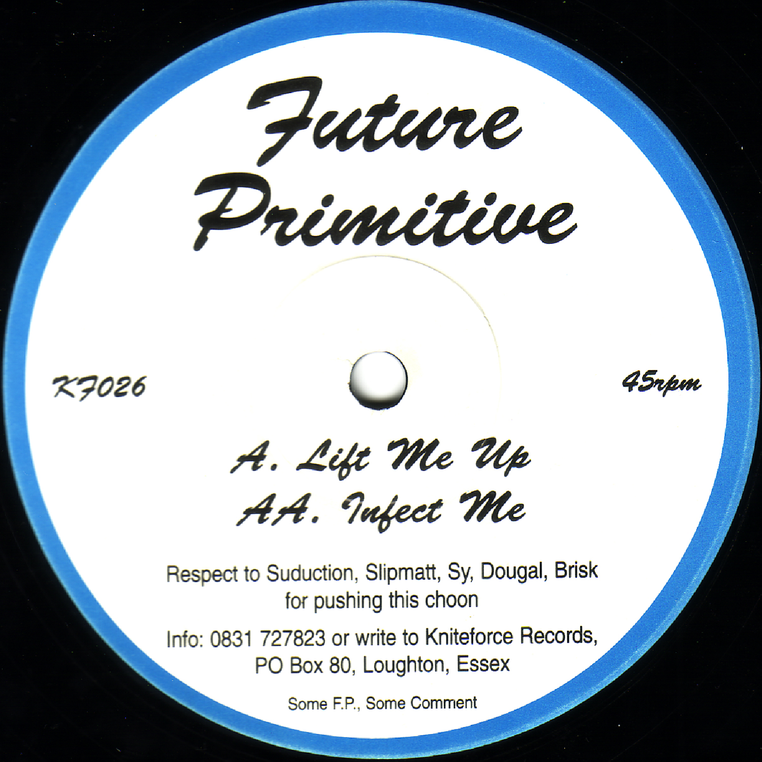 [KF026] Future Primitive - Lift Me Up EP (Digital Only)