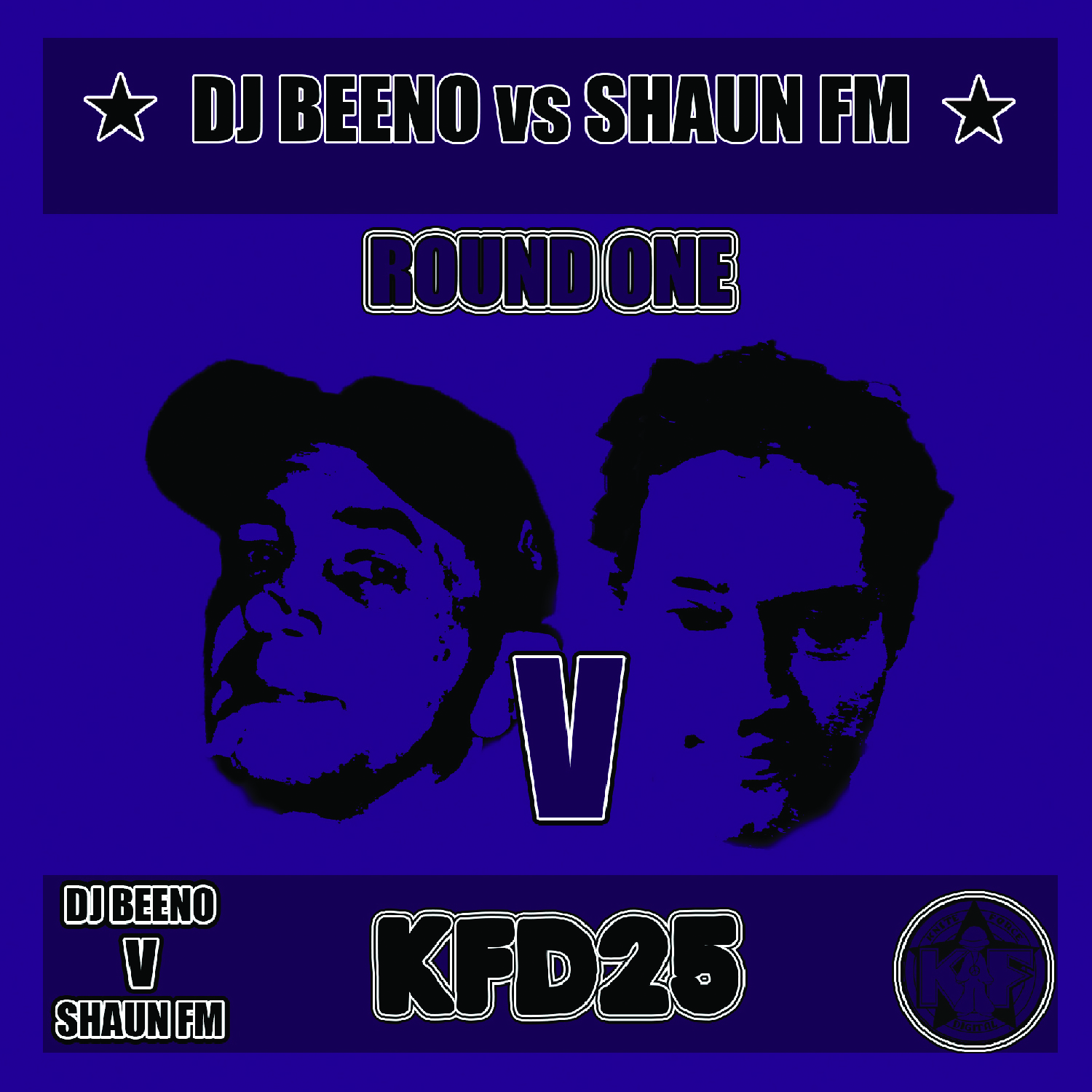 [KFD025] Various - Dj Beeno Vs Shaun FM (Round One) (Digital Only)