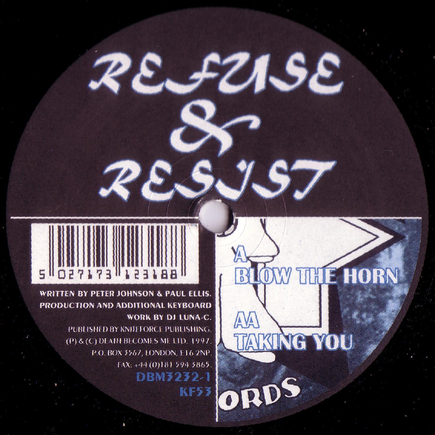 [KF053] Refuse & Resist - Blow The Horn EP (Digital Only)