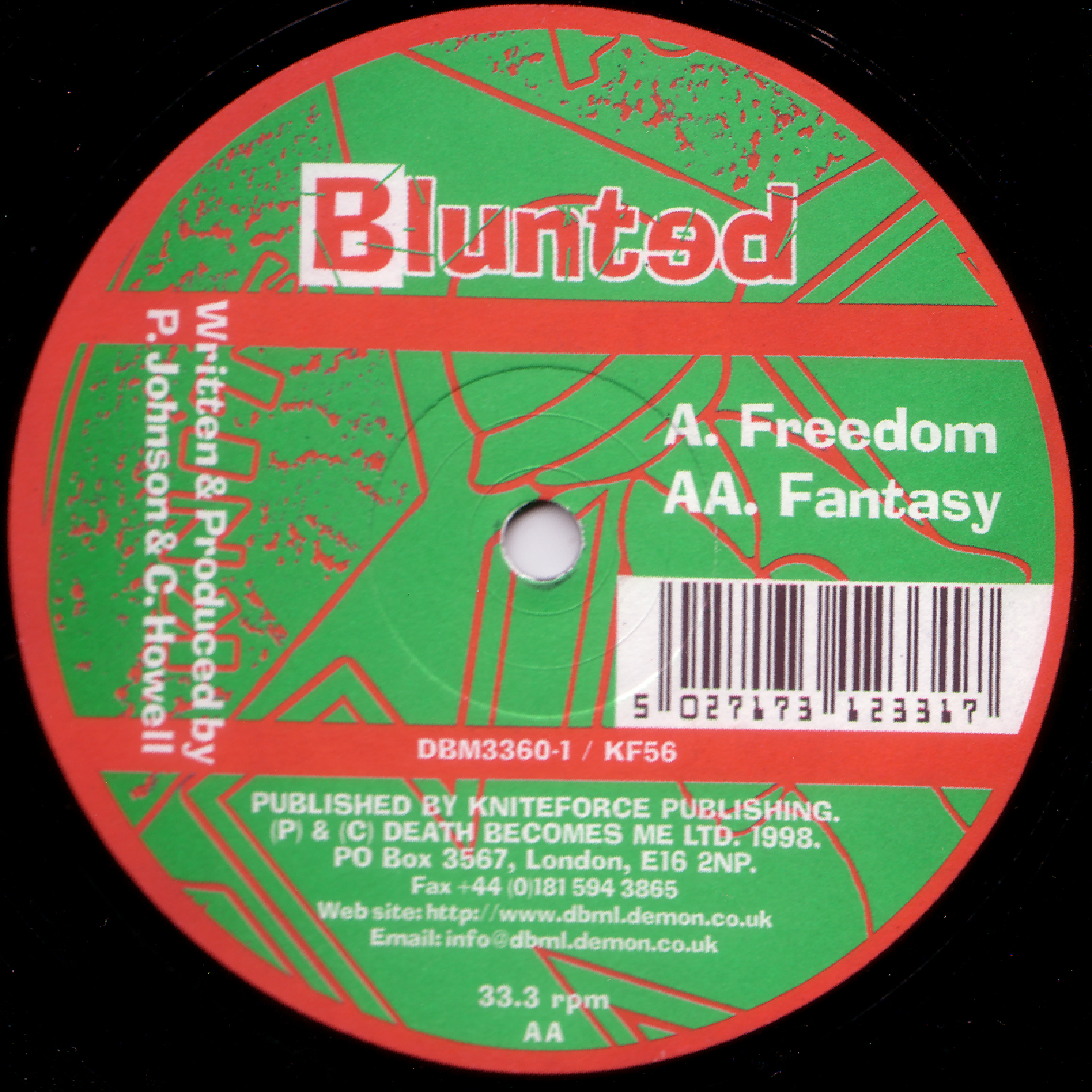 [KF056] Blunted - Freedom EP (Digital Only)