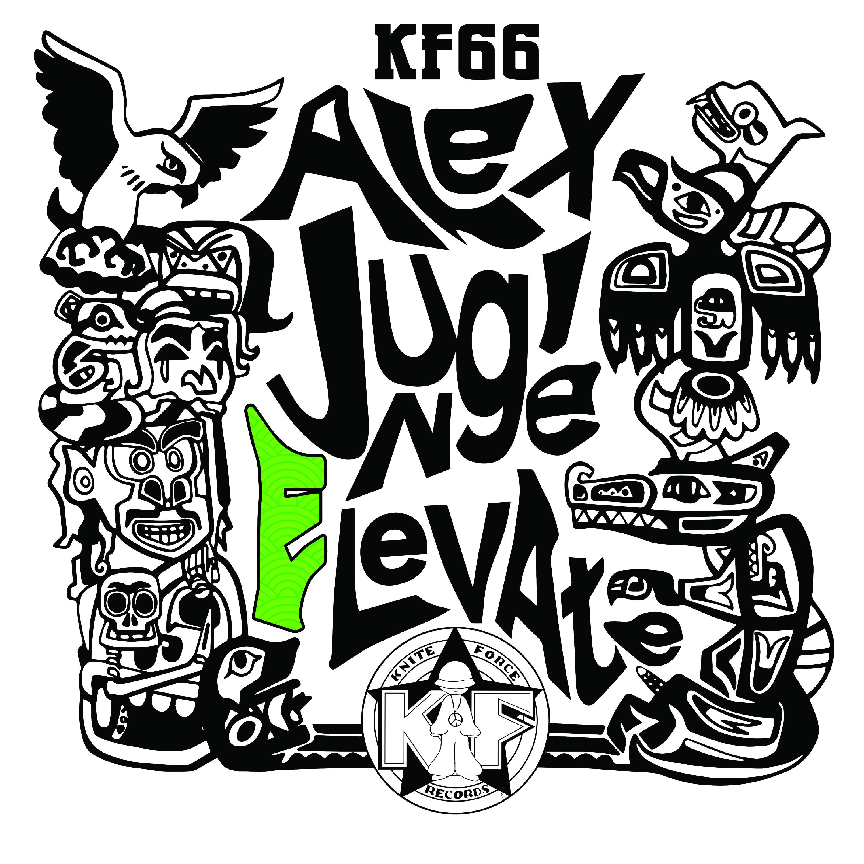 "[KF066] Alex Jungle - Elevate EP (12"" Vinyl + Digital)"