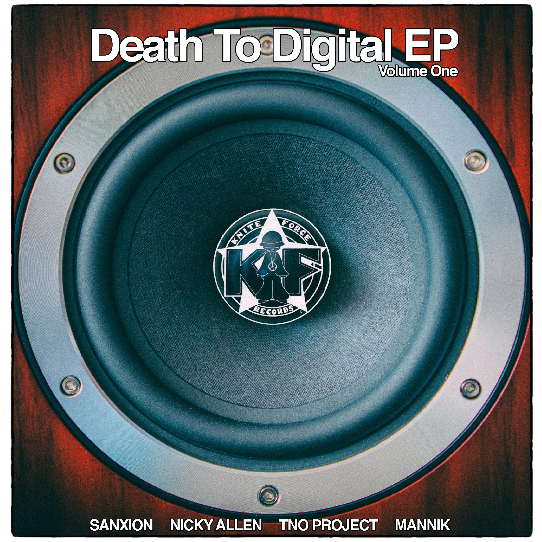 """[KF070] Various - Death To Digital EP Vol. 1 (12"""" Vinyl + Digital)"""