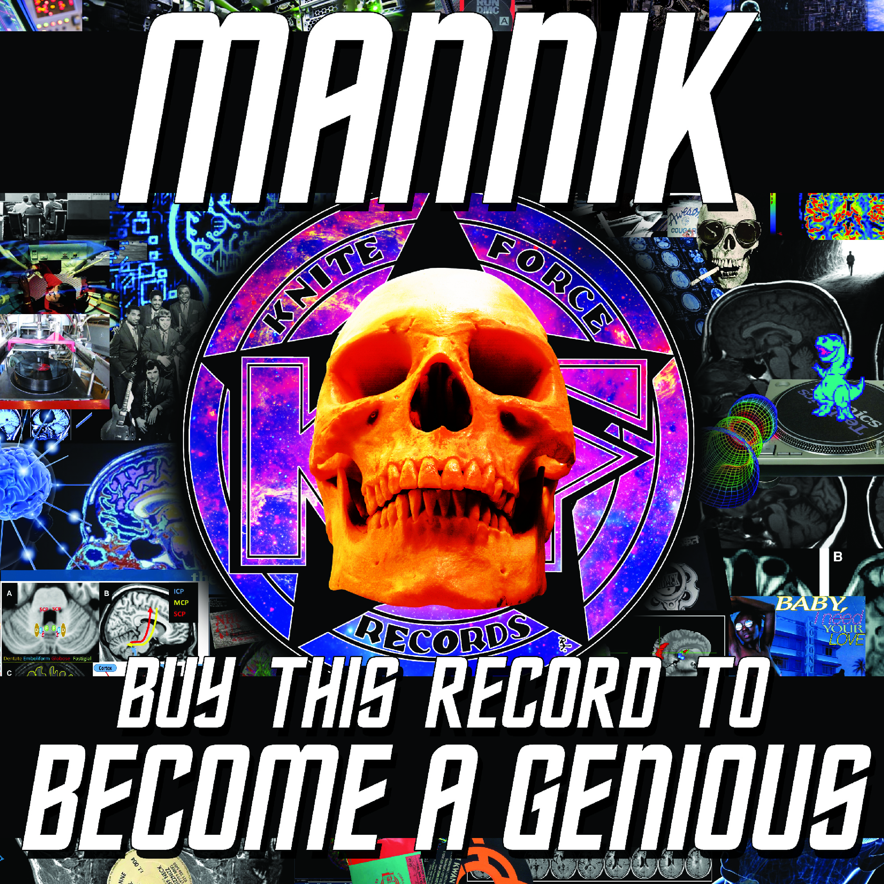 "[KF073] Mannik - Buy This Record To Become A Genious EP (12"" Vinyl + Digital)"