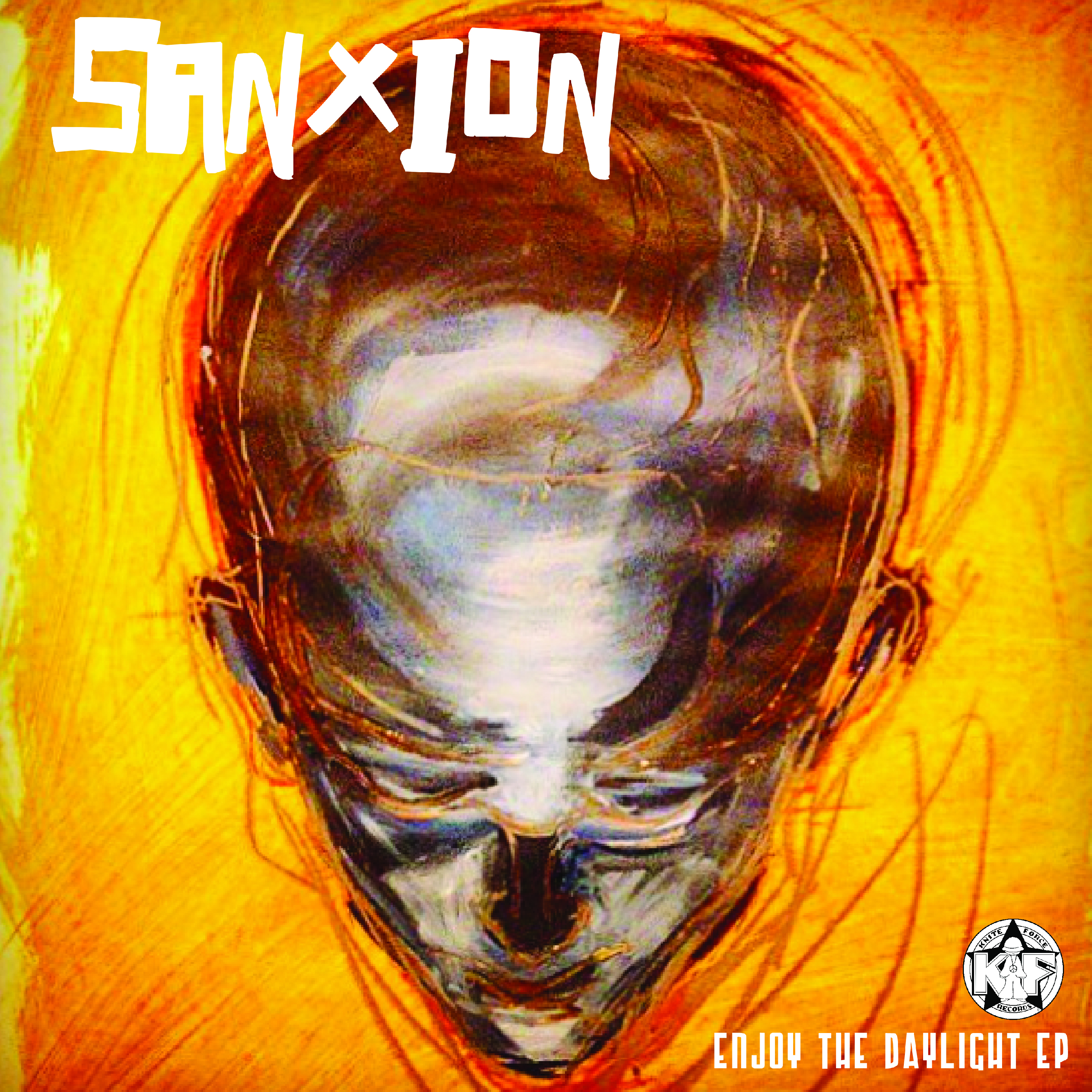 "[KF077] Sanxion - Enjoy The Daylight EP (12"" Vinyl + Digital)"