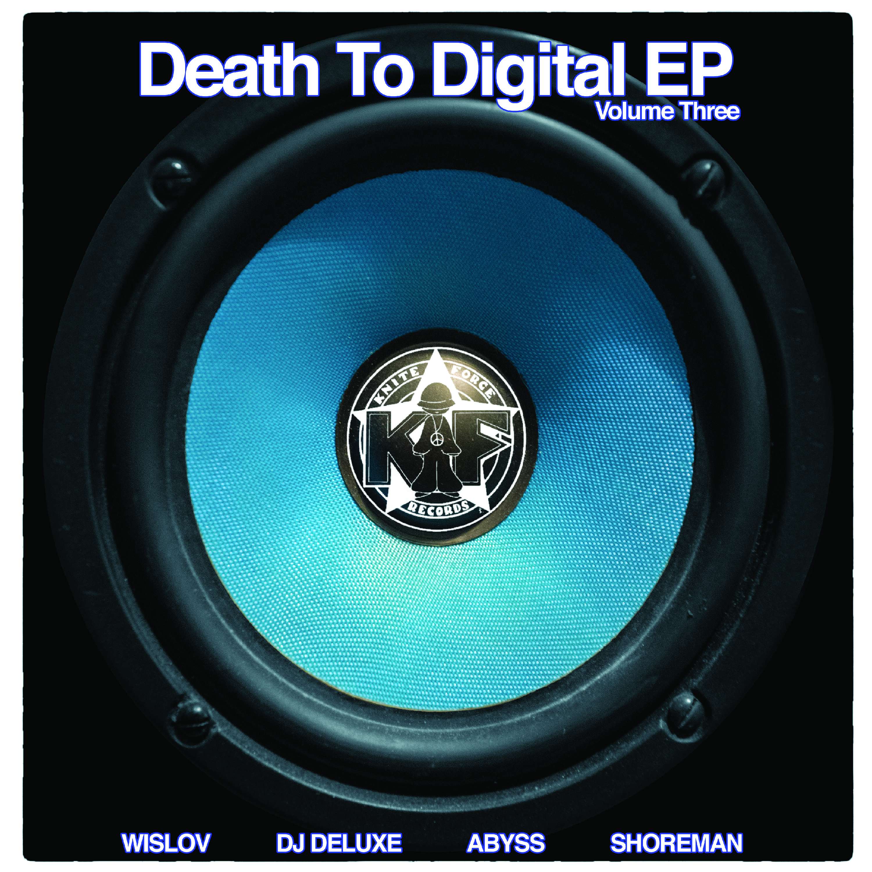 "[KF088] Various - Death To Digital EP Vol.3 (12"" Vinyl + Digital)"