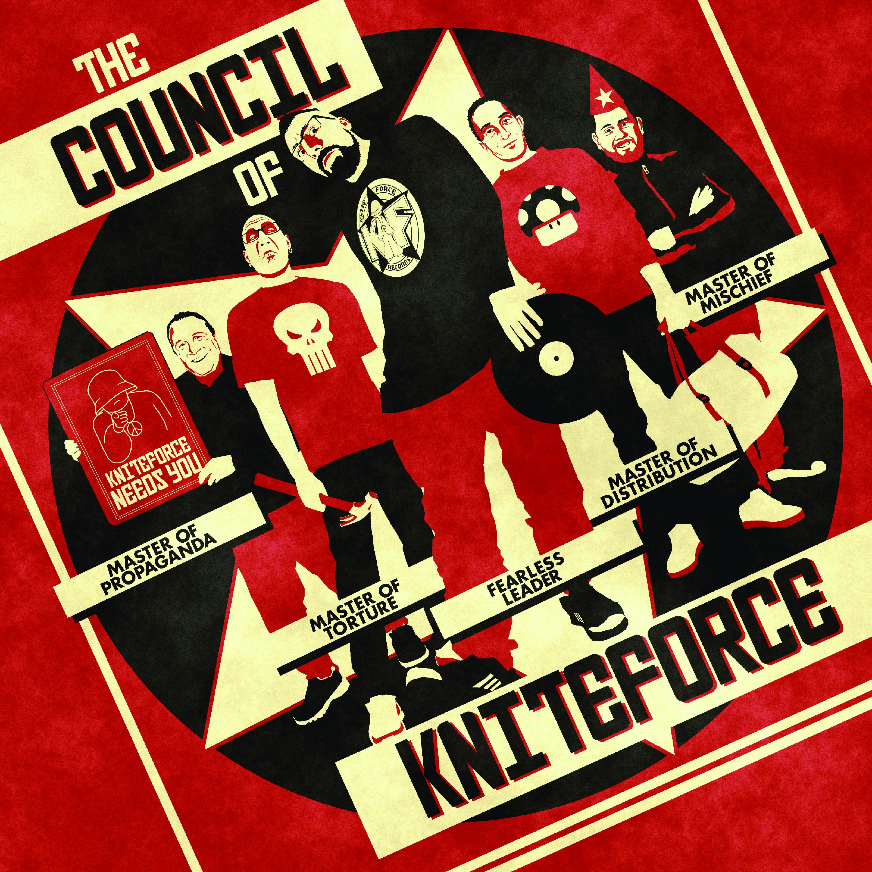 "[KF104] Various - The Council Of Kniteforce EP (12"" Vinyl + Digital)"