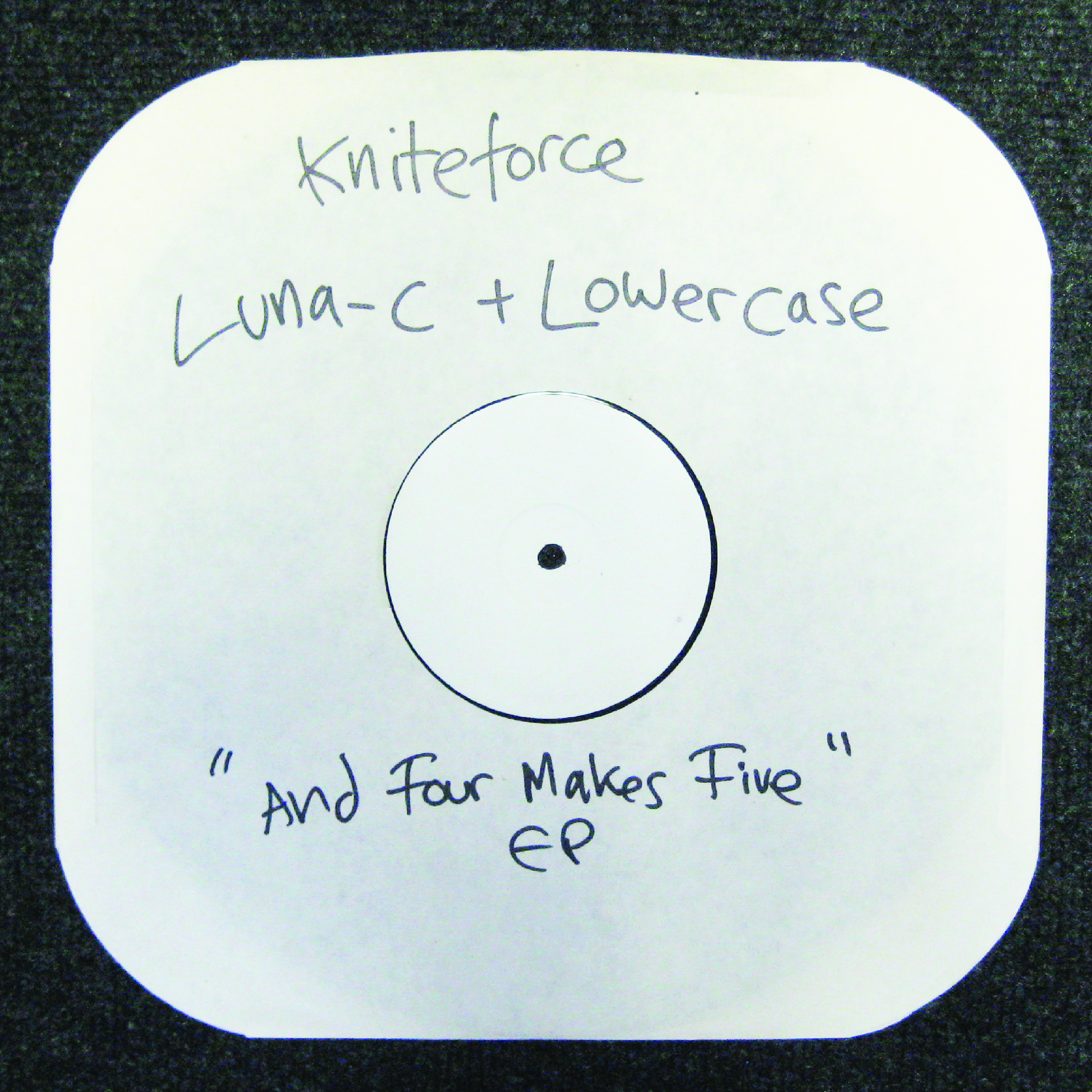 "[KF114] Luna-C & The Lowercase - And Four Makes Five EP (12"" Vinyl + Digital)"