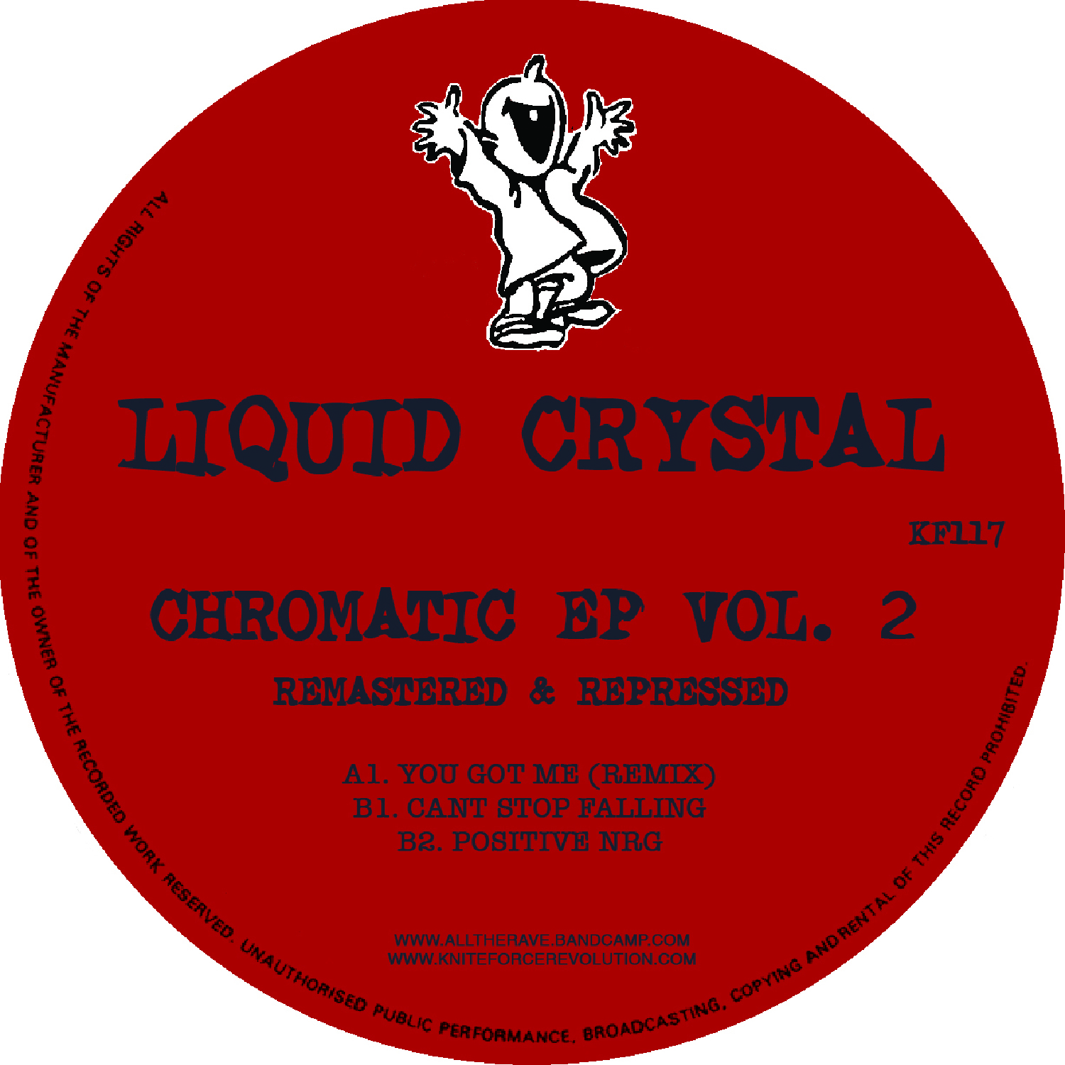 "[KF117] Liquid Crystal - Chromatic EP Volume 2 (12"" Vinyl + Digital)"