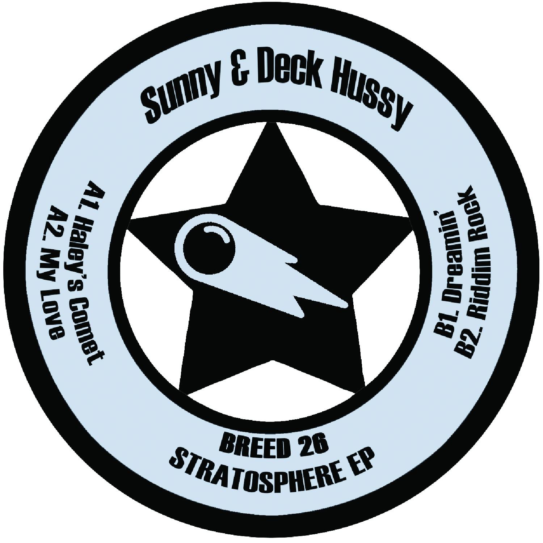 "[BREED026] Sunny & Deck Hussy - Stratosphere EP (12"" Vinyl + Digital)"