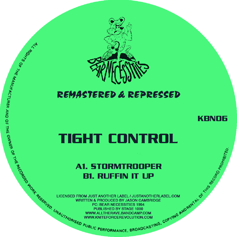 "[KBN06] Tight Control - Stormtrooper EP (12"" Vinyl + Digital)"