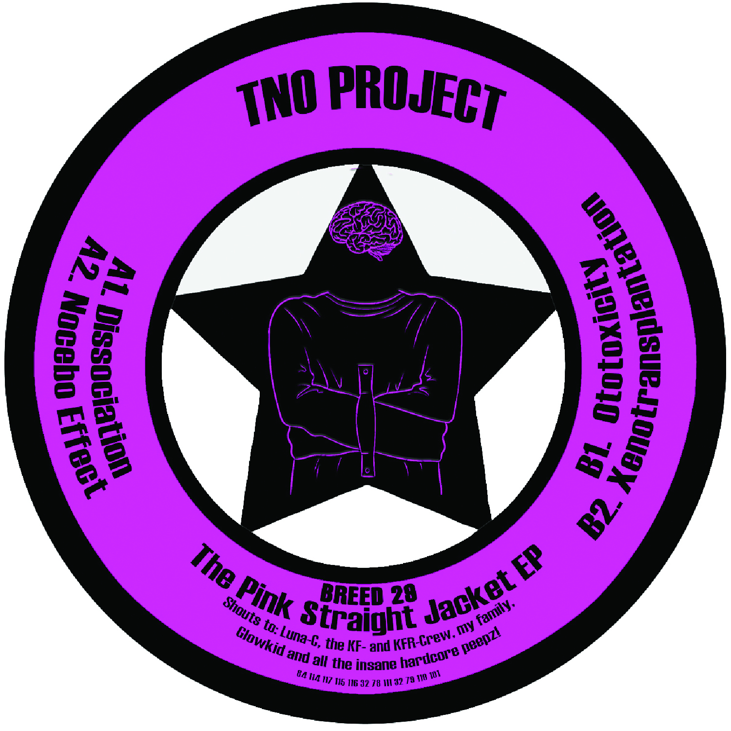 "[BREED029] TNO Project - The Pink Straight Jacket EP (12"" Vinyl + Digital)"