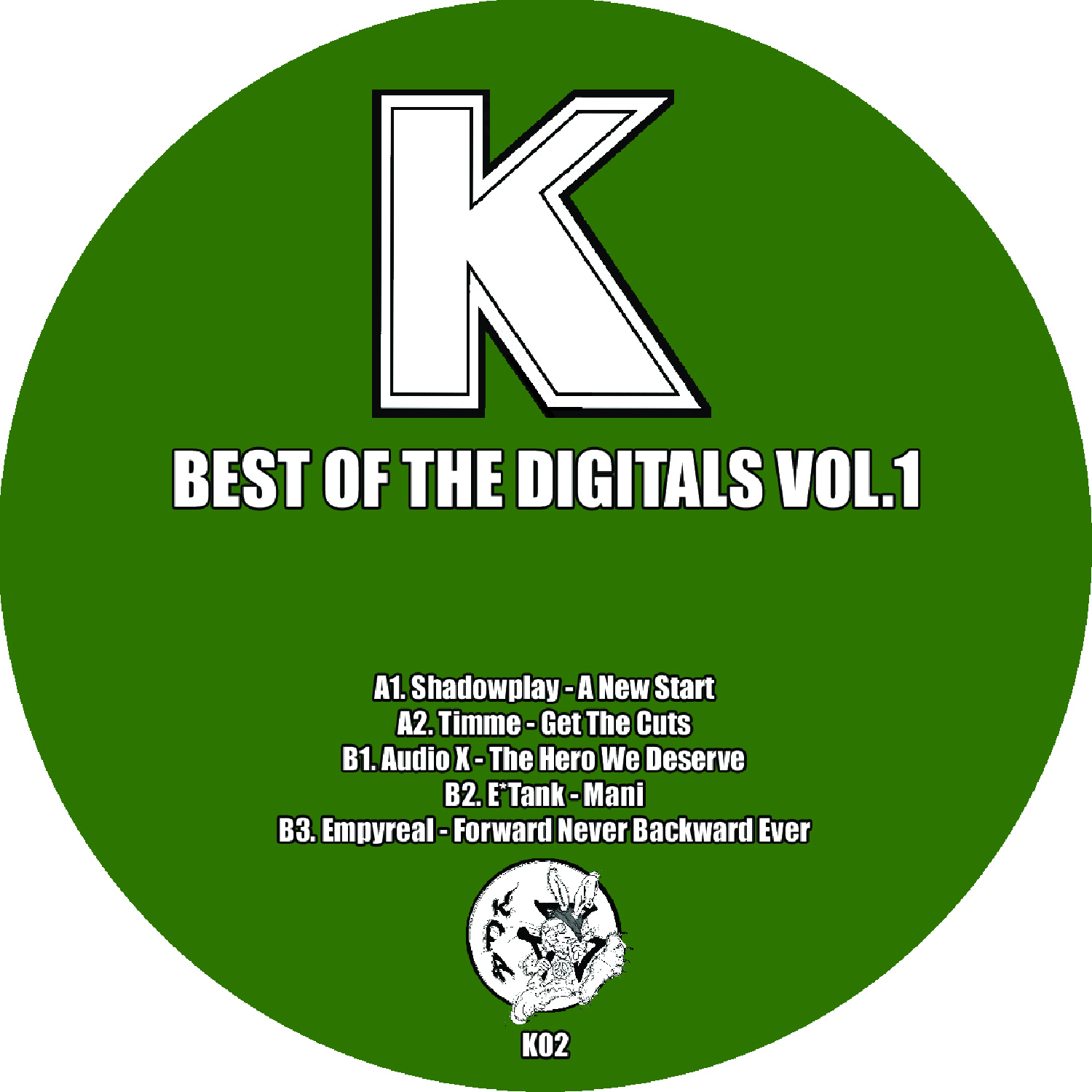 "[K02] Various - Best Of The Digitals Vol. 1 EP (12"" Vinyl + Digital)"