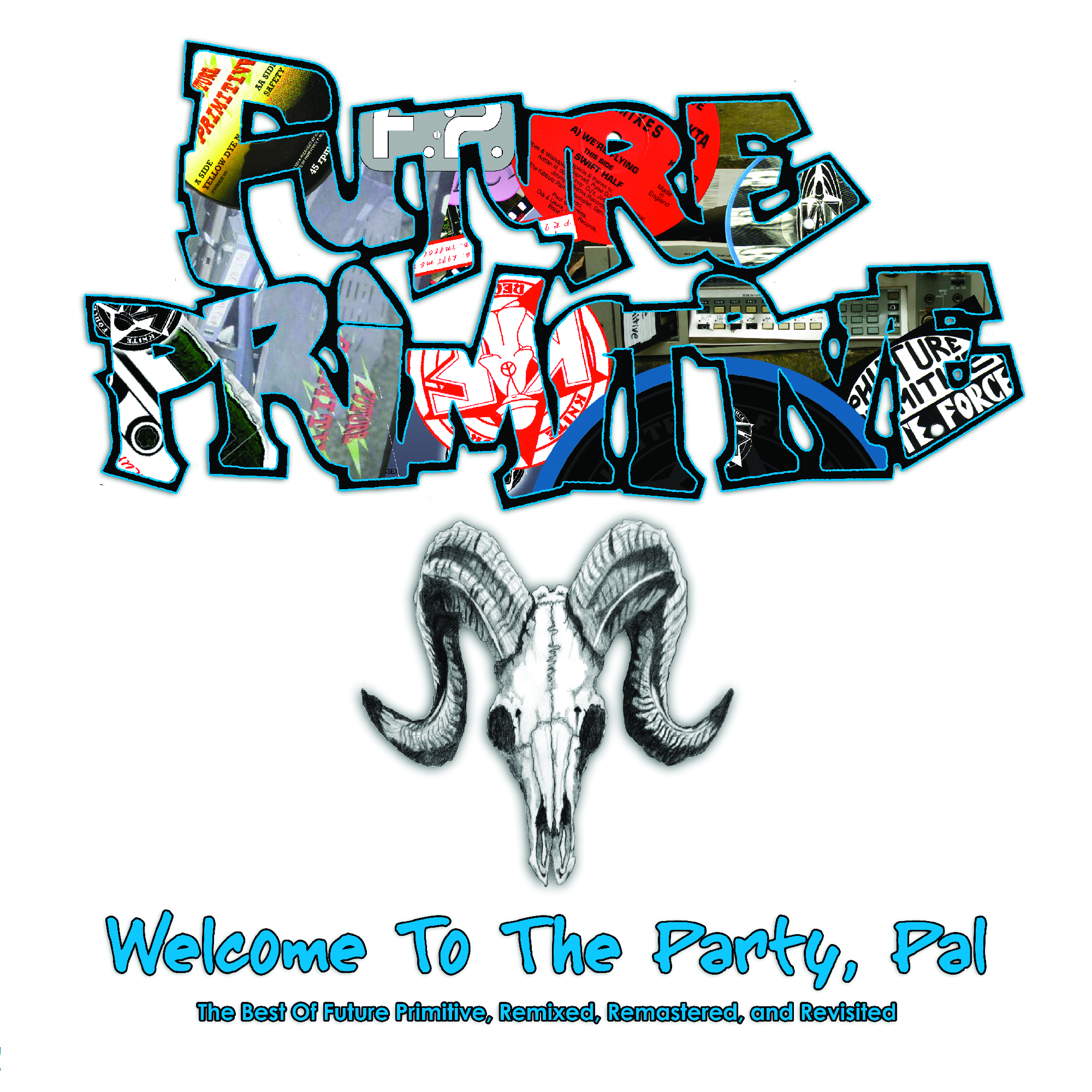 [KFCD009] Future Primitive - Welcome To The Party Pal! (Digital Only)