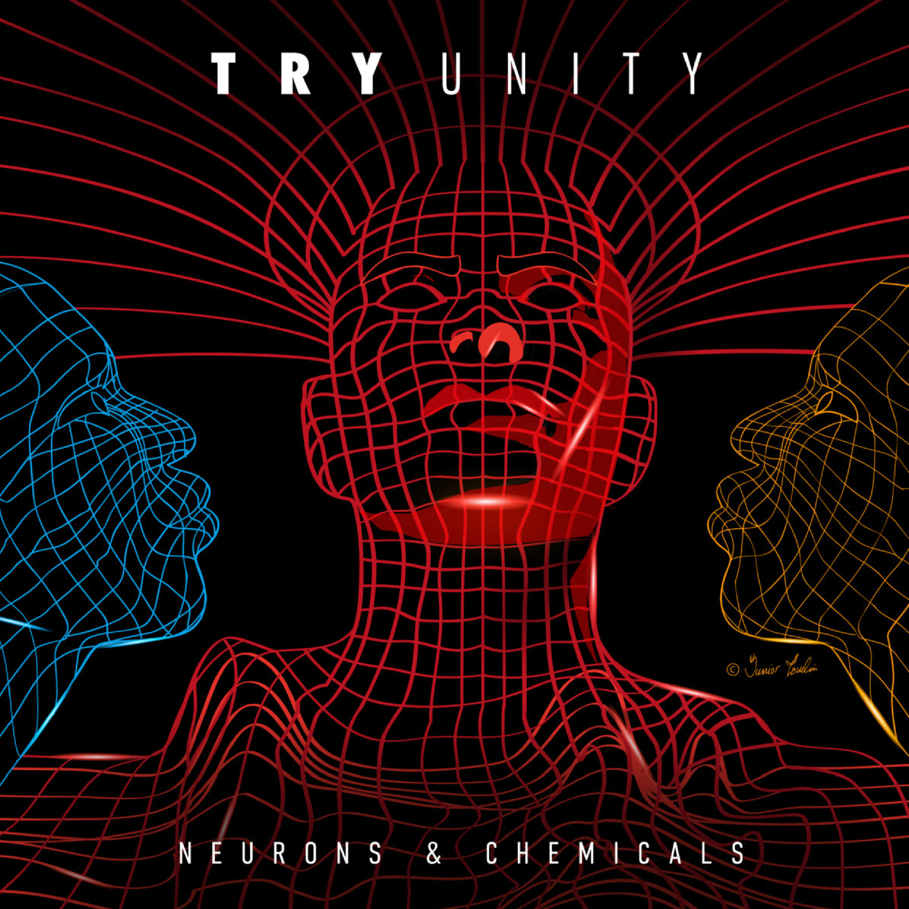 "[RRRDJ005] Try Unity - Neurons & Chemicals (2x12"" Vinyl + Digital)"