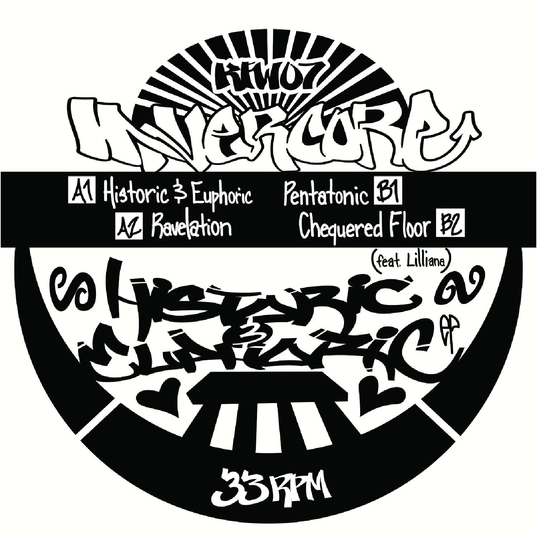 "[KFW07] InnerCore - Historic & Euphoric EP (12"" Vinyl + Digital)"