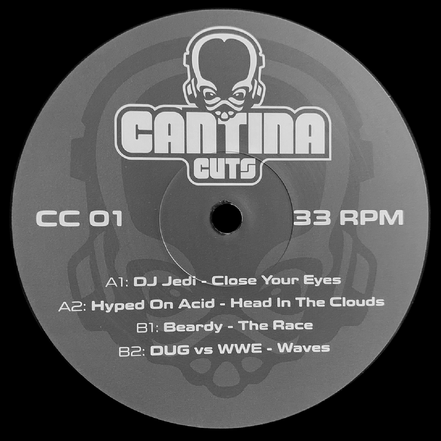 "[CC01] Various - Cantina Cuts 1 (12"" Vinyl + Digital)"