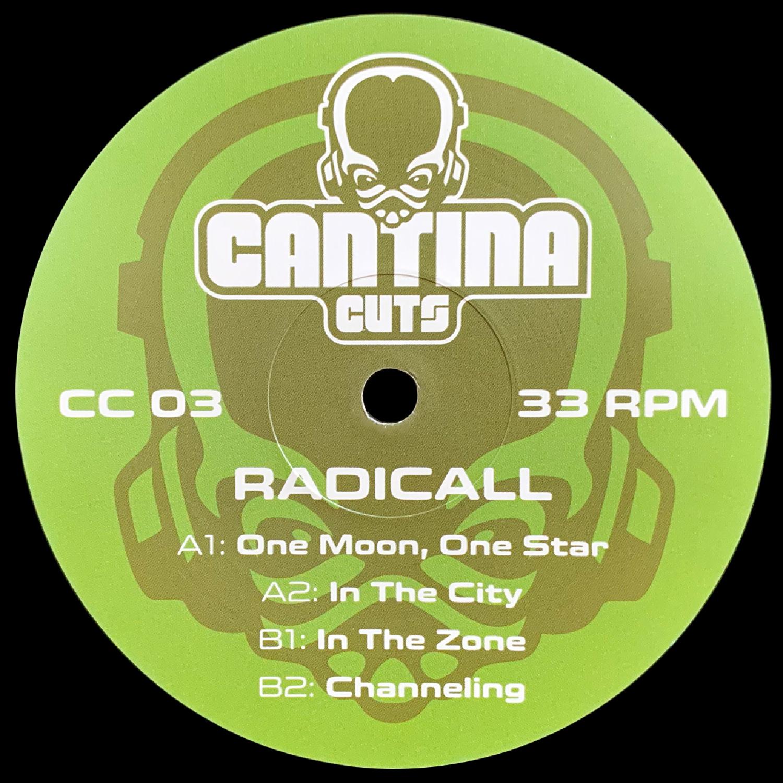 "[CC03] radicall - Resonate EP (12"" Vinyl + Digital)"