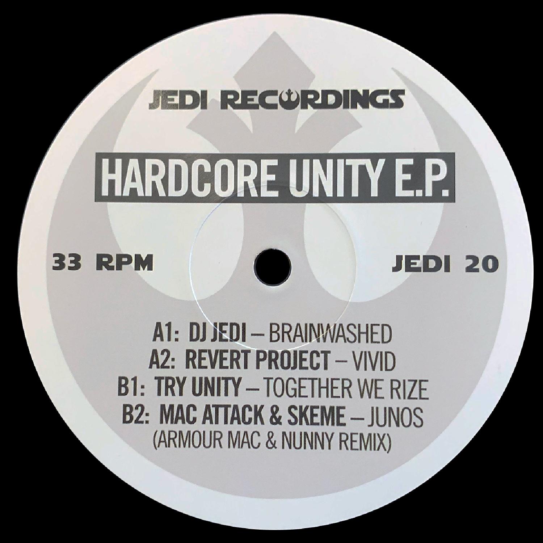 "[JEDI20] Various - Hardcore Unity EP (12"" Vinyl + Digital)"