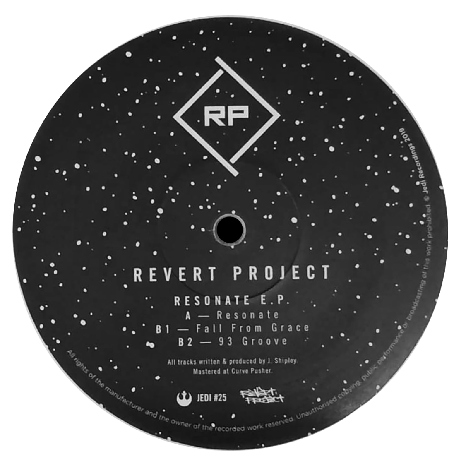 "[JEDI25] Revert Project - Resonate EP (12"" Vinyl + Digital)"