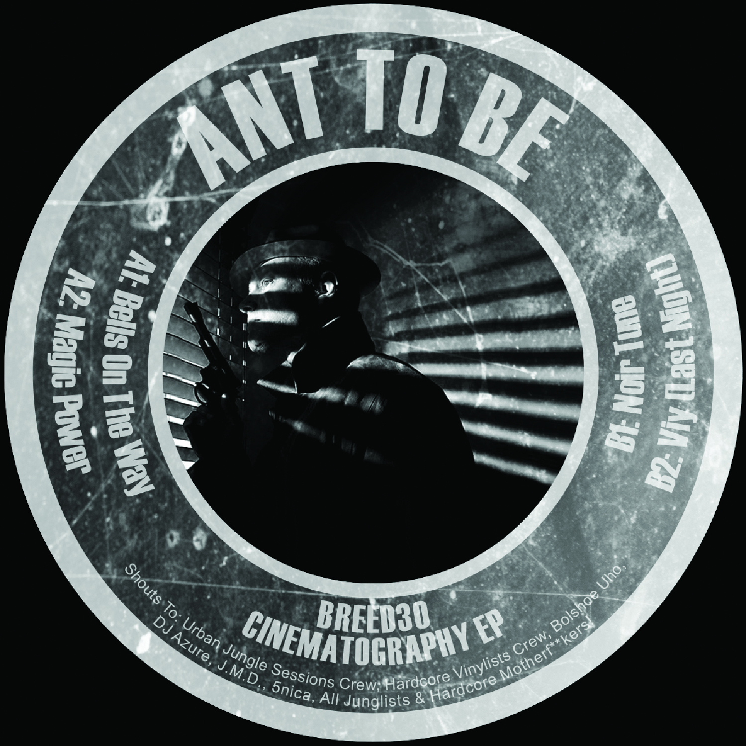 "[BREED30] Ant To Be - Cinematography EP (12"" Vinyl + Digital)"