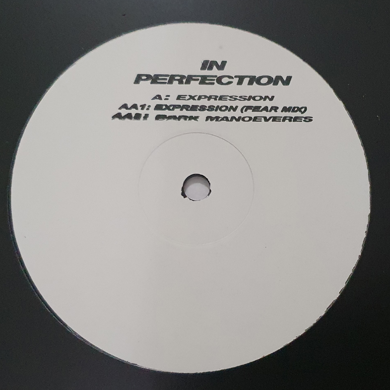 "[IP01] In Perfection - Expression EP (12"" Vinyl)"
