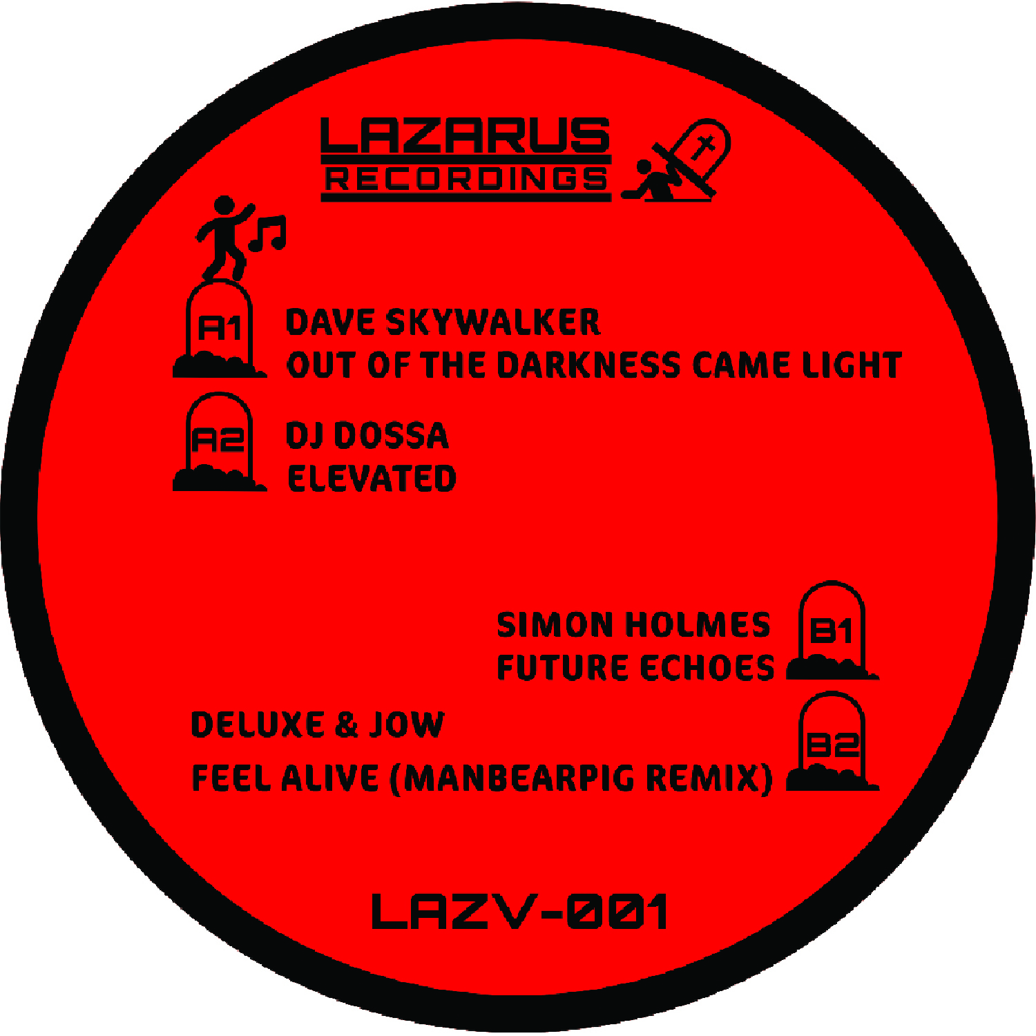 """[LAZV001] Various - Out Of The Darkness (12"""" Vinyl + Digital)"""
